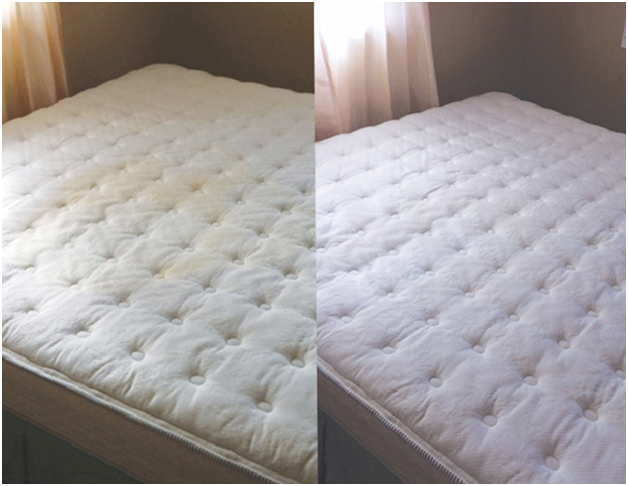 How to remove urine stains from mattress